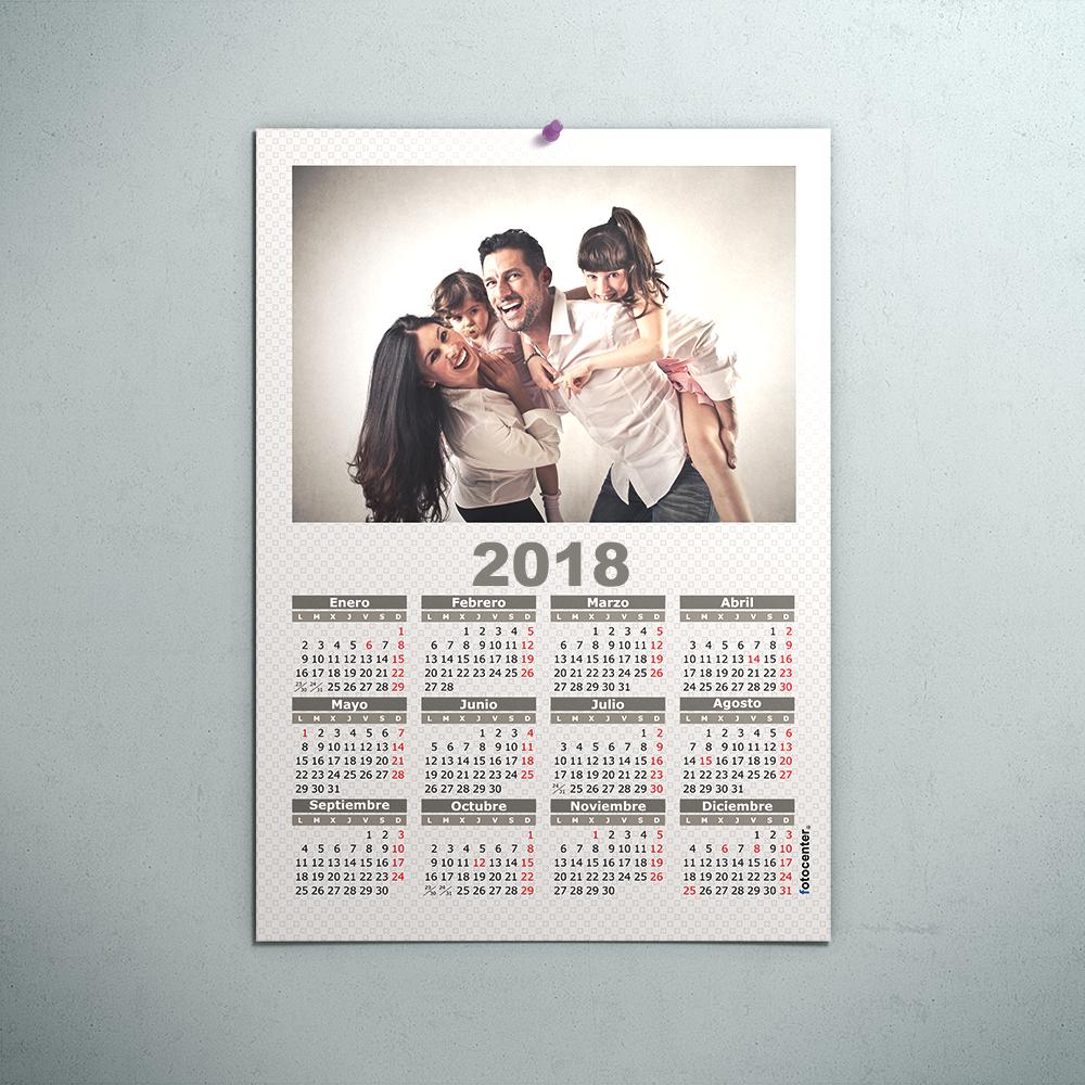 Pack 4 unidades calendarios 2018
