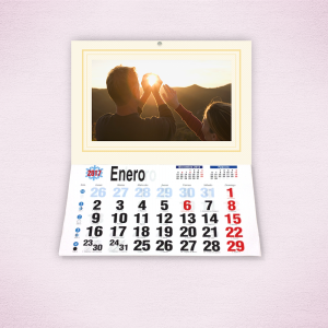 Pack 2 calendarios faldilla