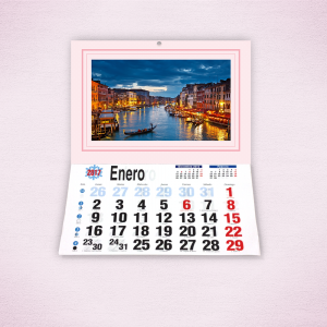 Pack 10 calendarios faldilla