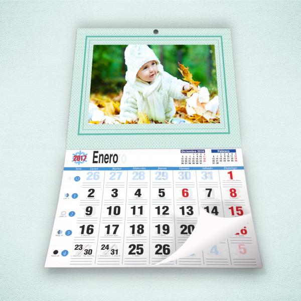 Pack 2 calendarios faldilla grande