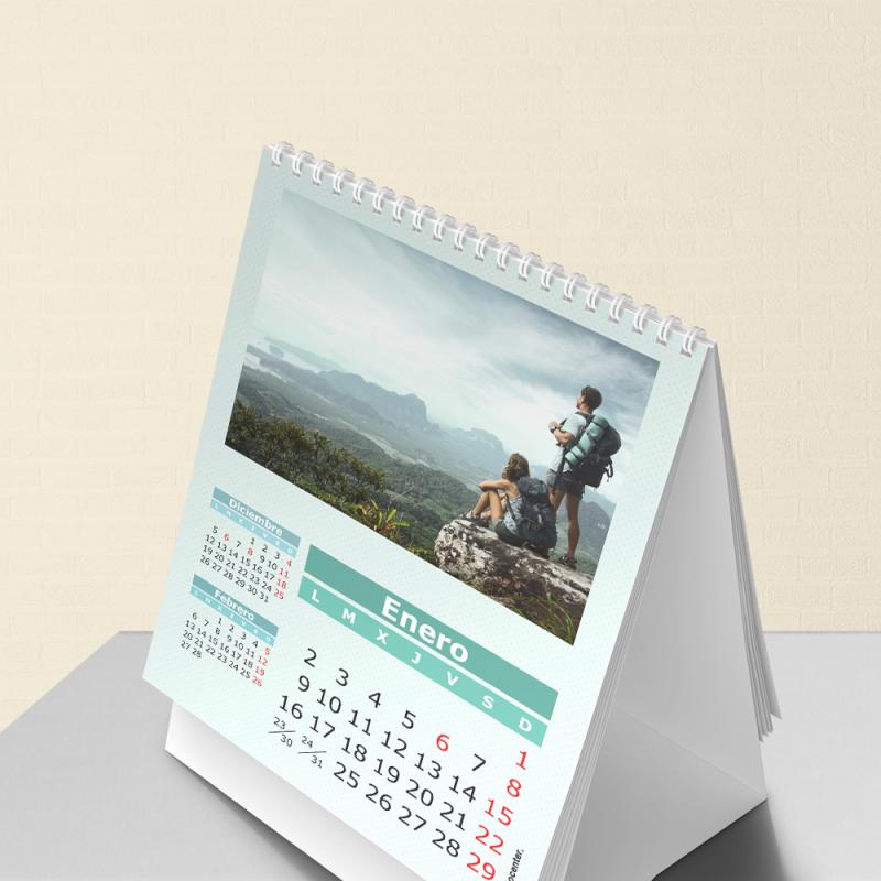 calendarios con foto 2018