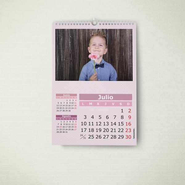 Calendario espiral A4