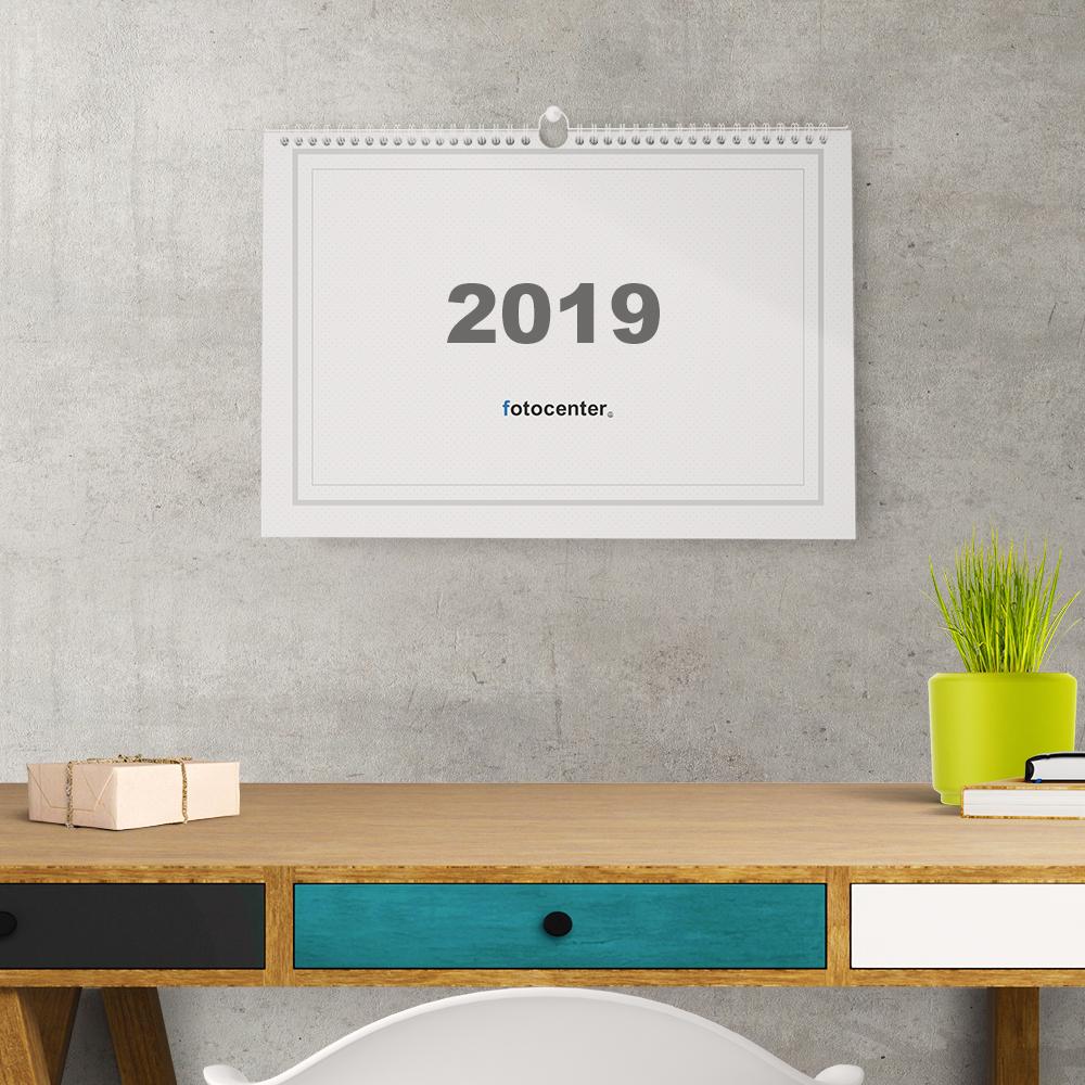 Calendario Din A4.Calendario De Espiral A4 Horizontal