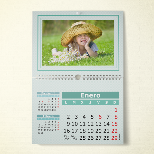 Calendario espiral A2