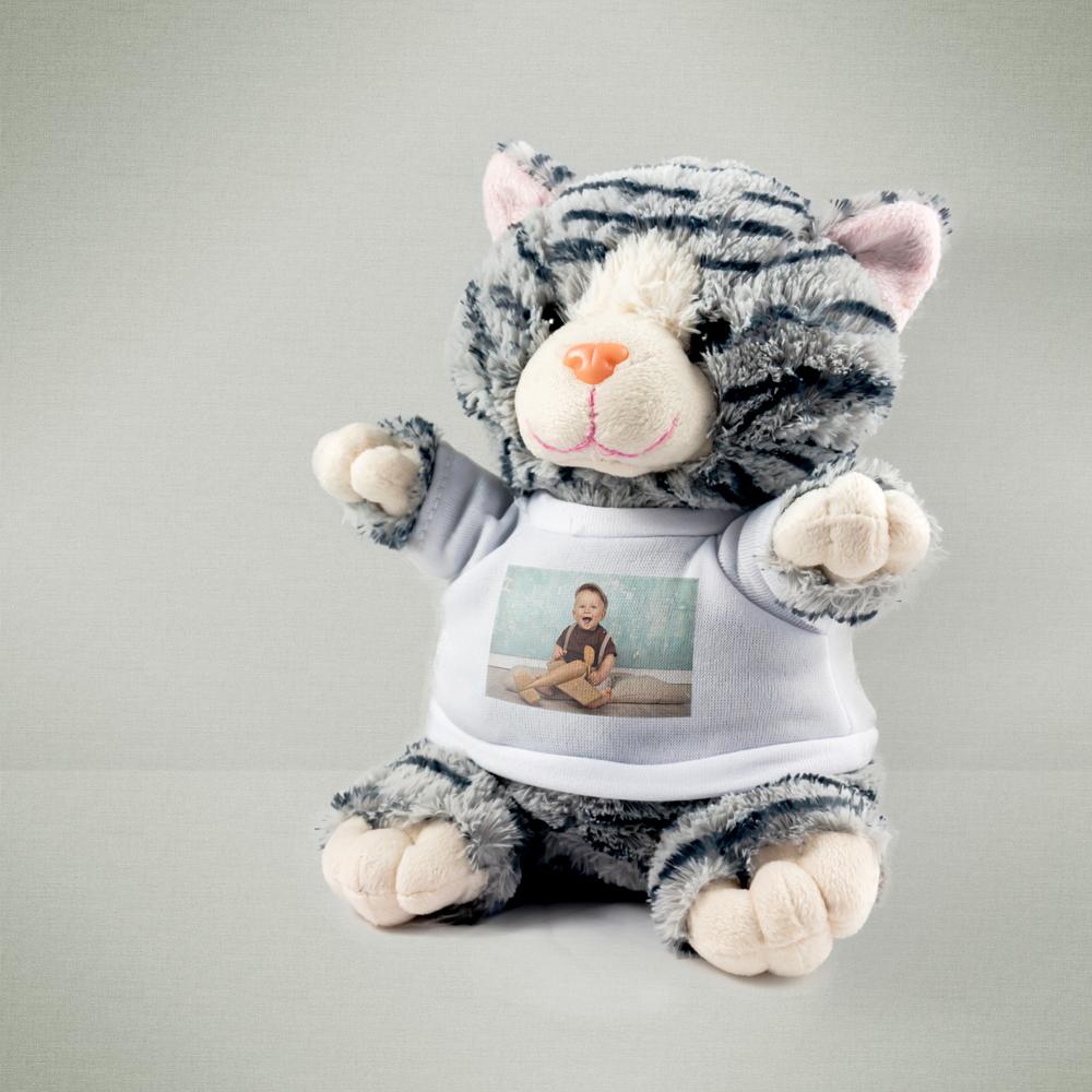 Animales de peluche con foto en la camiseta - Peluches con fotos ...