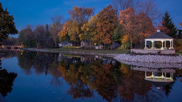 Blue Hour at Mill Pond - fotos espectaculares