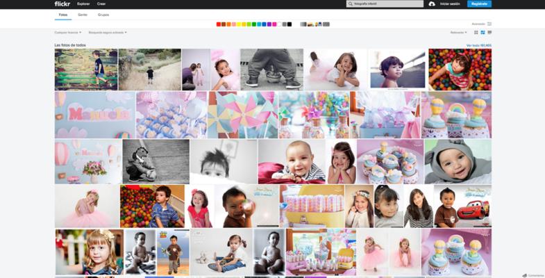 Inspirate en flickr