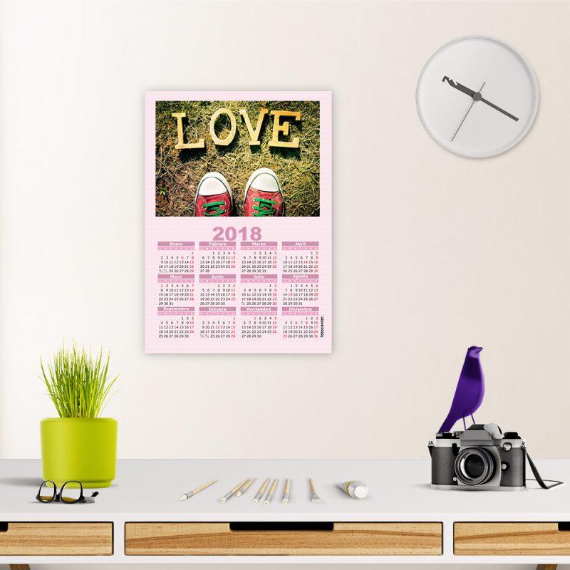 poster a4 calendario