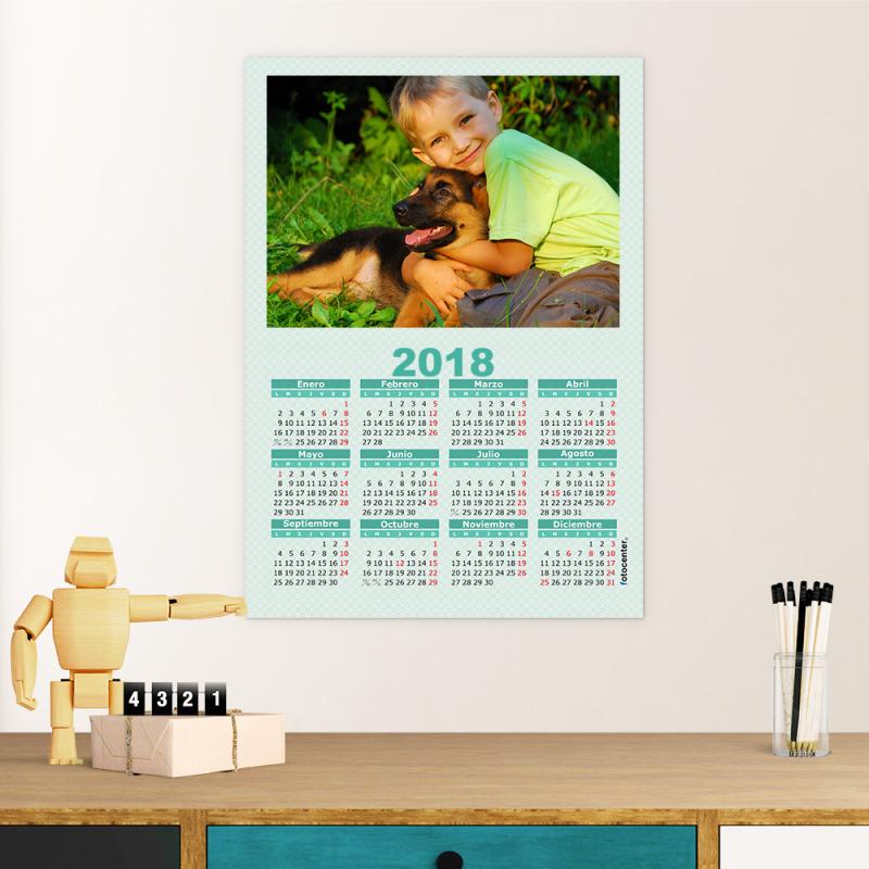 calendario a3 poster