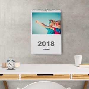 Calendario 2018 espiral A3 pared